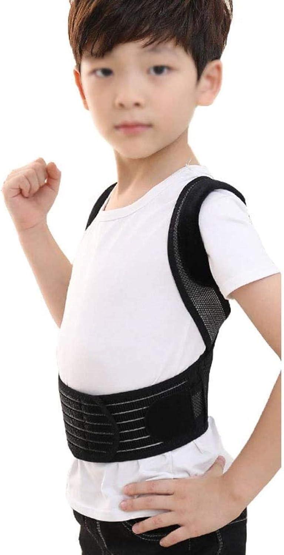 Soporte para la Espalda Corrección Niño jorobada Ortesis Estudiante de educación Infantil Ropa Jorobado Corrección Correa Trasera (Size : S (Waistline:34-73cm))
