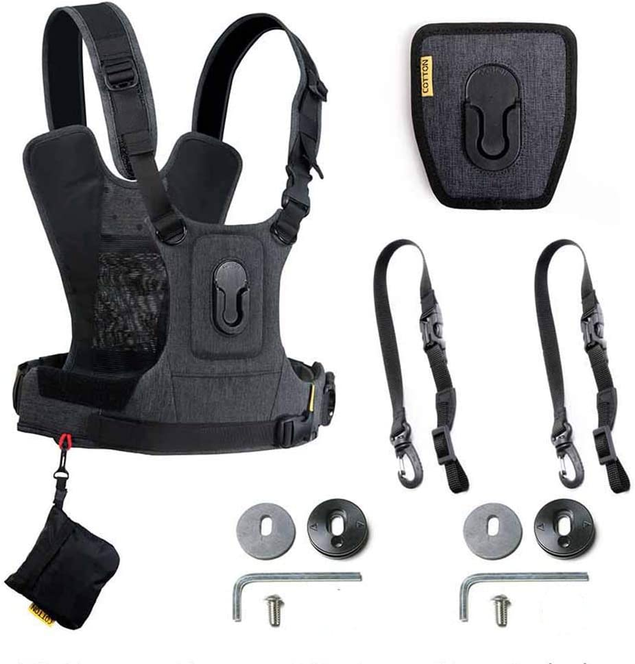 Cotton Carrier CCS G3 Two Camera Harness