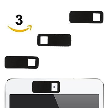 Webcam Cover Protectora extra fino para la cámara frontal del ordenador portátil, Tablet, Smartphone