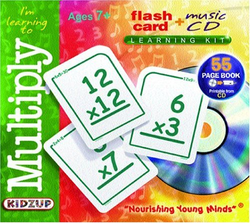 I'm Learning to Multiply: Compact Disc (Flash Card + Music CD Learning Kits) by Kidzup Productions