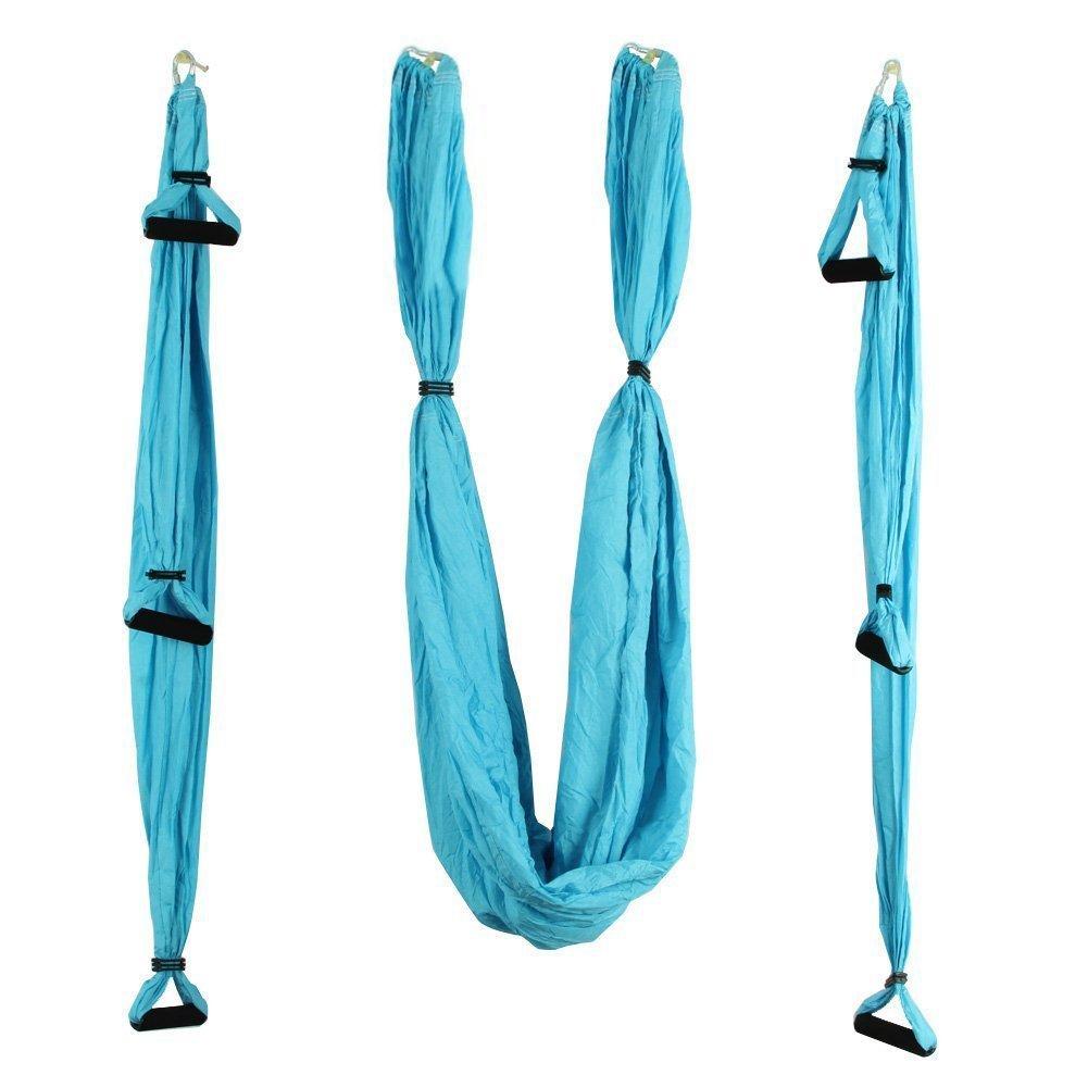 Luftig Yoga Haengematte - TOOGOO(R) Fliegen Haengematte Wechsel Schaukel Luftig Yoga Fitness
