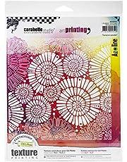 Carabelle Studio Rubber Texture Plate, us:one size, Fantaisie Spiralee