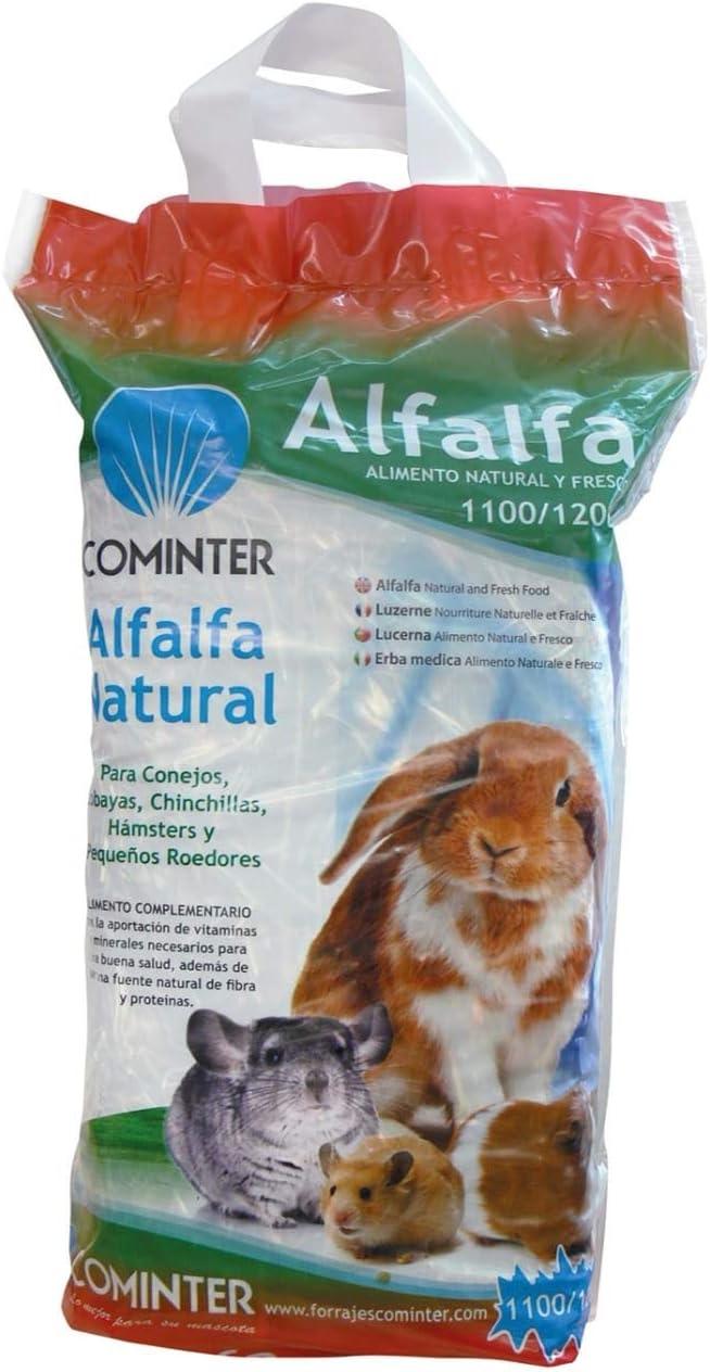 Cominter Alfalfa para Roedores Deshidratada - Bolsa con 1,1/1,2 kg