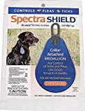 Dog Flea Treatment Collar - Durvet Spectra Shield Collar Attached Medallion, 56-Pound and Over