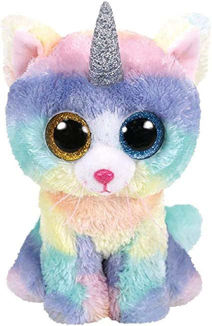 Stuffed Squirrel Animals, Amazon Com Tty Beanie Baby Soft Toy Multicoloured Ty36250 Heather The Unicorn Cat 15cm Toys Games