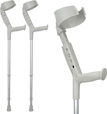 Adult 1 Pair Drive Medical Bariatric Heavy Duty Walking Crutches