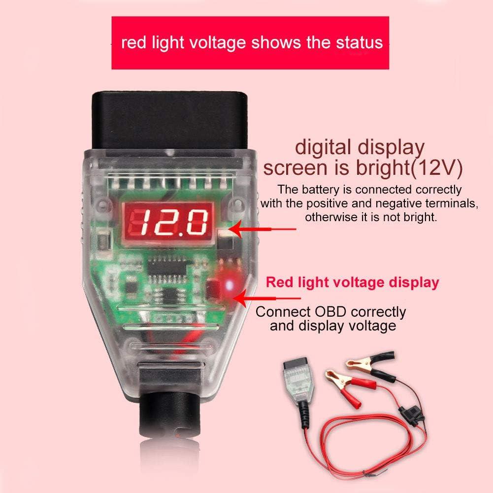 Yeshai3369 OBD Memory Saver Replace Battery Safe Resume Computer ECU Memory Savor for Car
