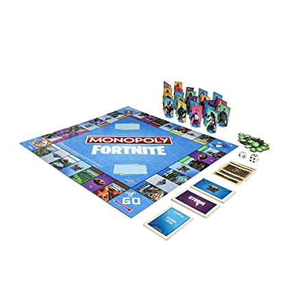 Amazon.com: Monopoly Fortnite Edition - Juego de mesa ...