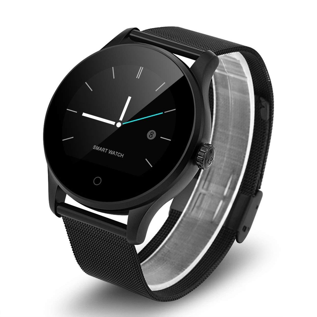 Amazon.com: Liobaba K88H Smart Watch Tracker Bluetooth ...