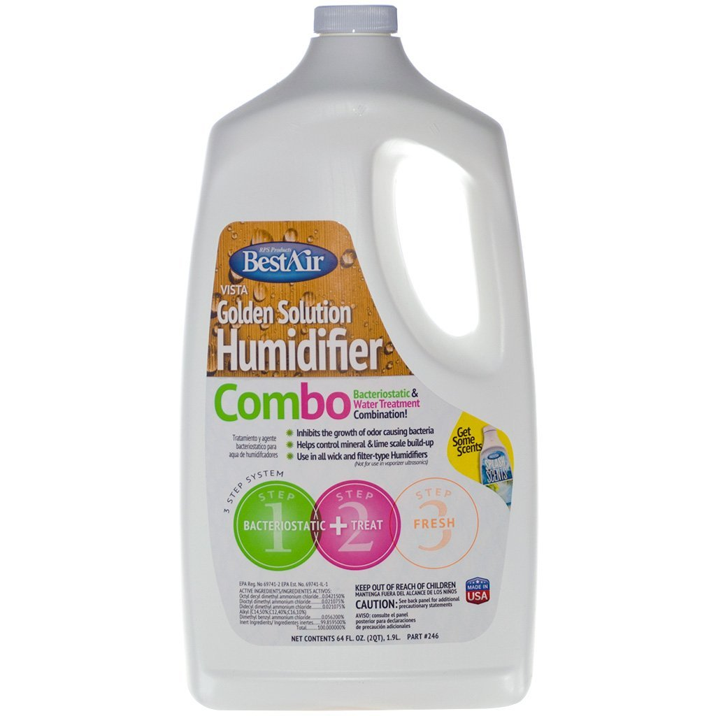 Combination Humidifier Water Treatment and Bacteriostatic 64 fl oz (Count 1)
