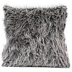 Pillow Case,Neartime Plush Fashion Cafe Home Decor Cushion (Dark Gray)