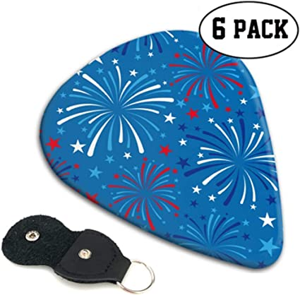 Vector 4 de julio de patrones sin fisuras Fireworks Boys Guitar ...