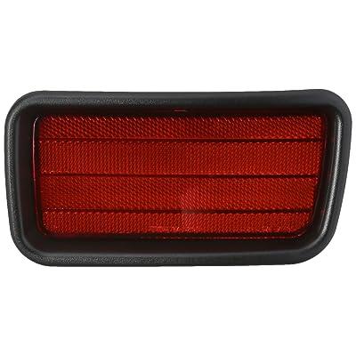 TYC 17-5205-00-1 Compatible with MITSUBISHI Montero Sport Right Replacement Reflex Reflector: Automotive