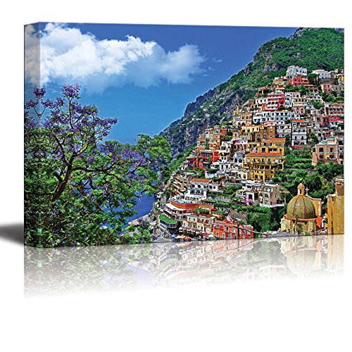 Canvas Prints Wall Art - Travel in Italy Series - Positano Modern Wall Decor/