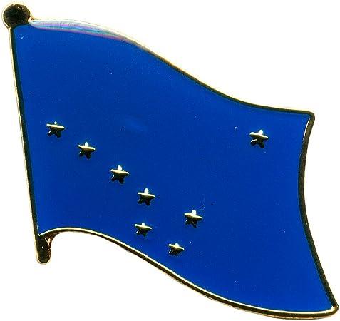 Alaska USA Pin Badge