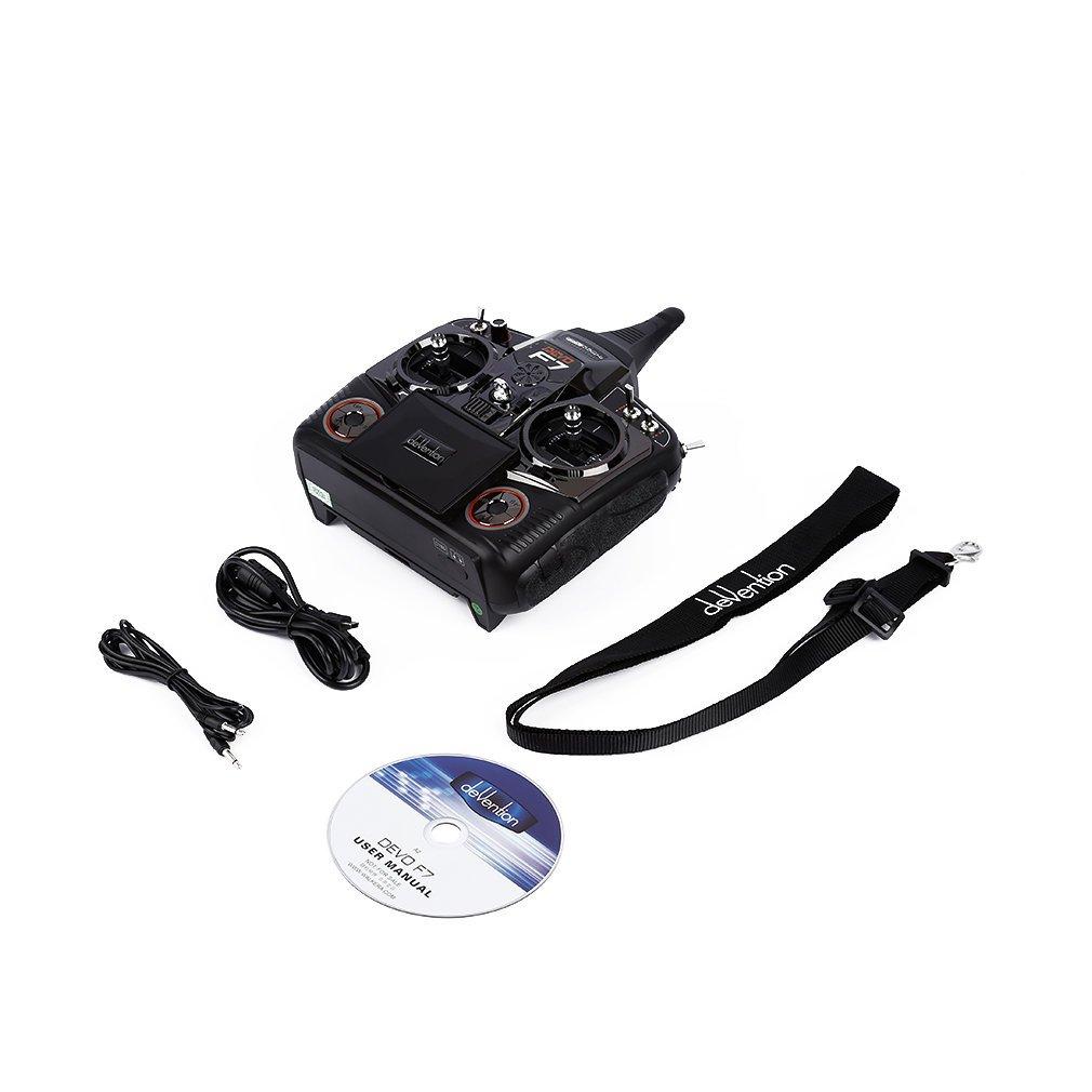 Bangcool 2.4 GHz 5.8G Drohne Sender Echtzeit Übertragung Schwarz Fernbedienung mit Antenne