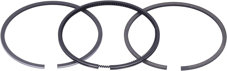 Zhat Juego de Anillos de pistón, aleación de 90 mm, 3 Piezas, Anillo de pistón del Motor, fácil de Instalar para Motor de Gasolina