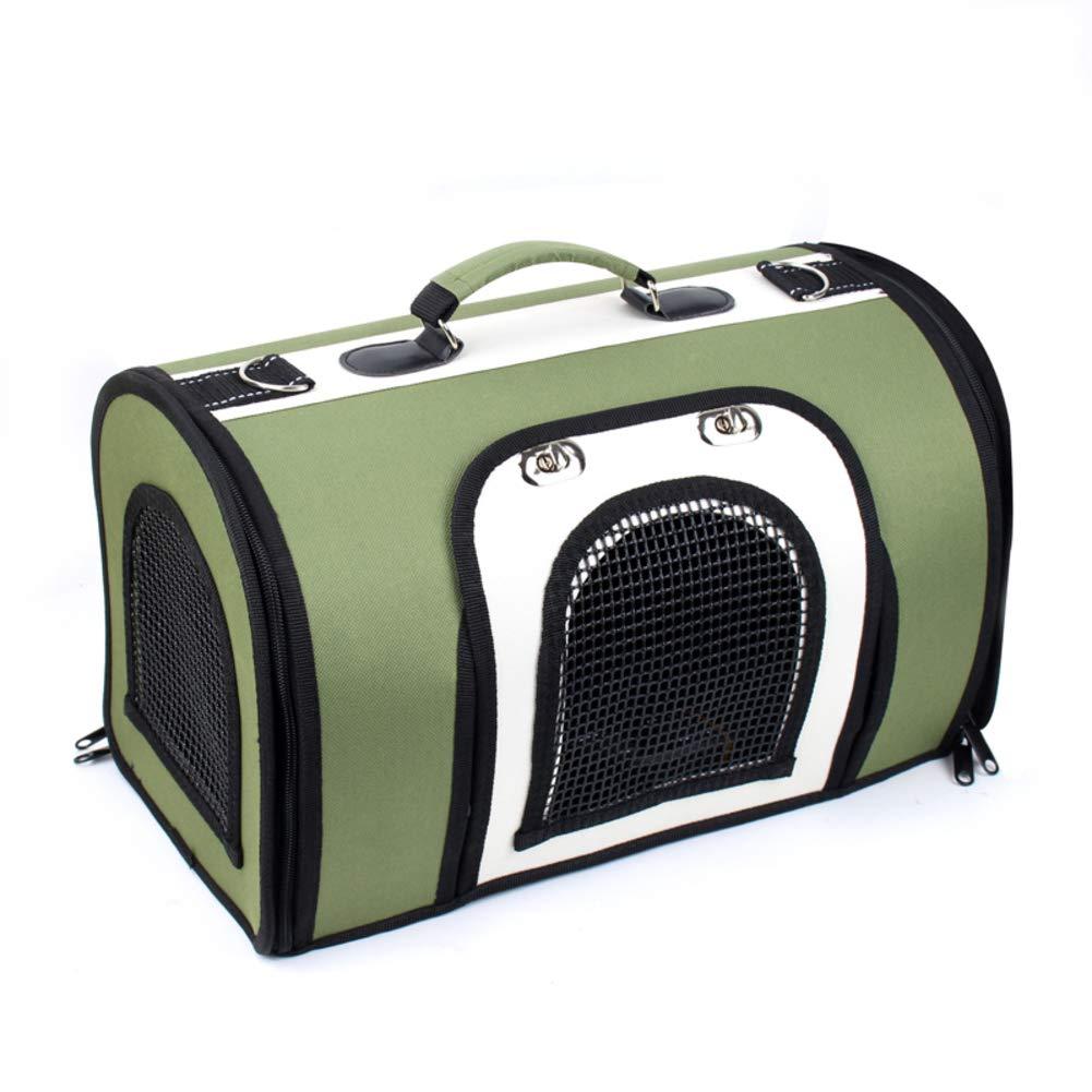 GreenA M greenA M Lightweight Travel Pet Carrier,Tear-Resistant Portable Tote Shoulder Bags,Mesh Breathable Washable Transport Bag for Dog & Cat-greenA M