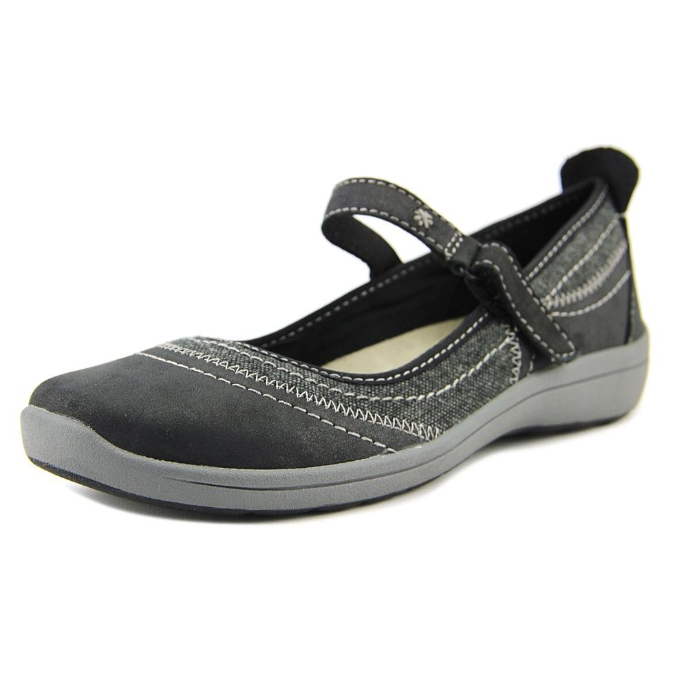 Easy Spirit Lownsdale Women's Slip On B0754QJ3WQ 6.5 B(M) US|Black/ Black Multi Leather