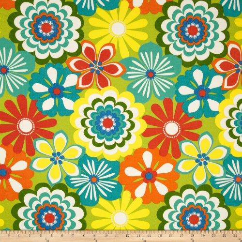 Swavelle/Mill Creek Indoor/Outdoor Esbo Granny Smith Fabric