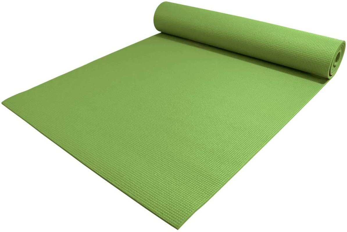 YogaAccessories 1 4 Thick High Density Deluxe Non Slip Exercise Pilates Yoga Mat