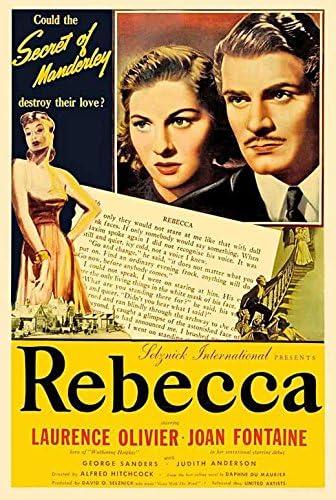 Amazon.com: Rebecca POSTER Movie (27 x 40 Inches - 69cm x 102cm) (1940)  (Style D): Posters & Prints