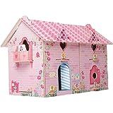 Brinquedo para Montar Casa Divertida Doll Madeira, Brincadeira de Criança, 2390, Multicor