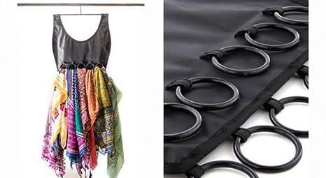 divinext Hanging Scarf and Tie Organizer Hanger