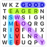Word Search in english