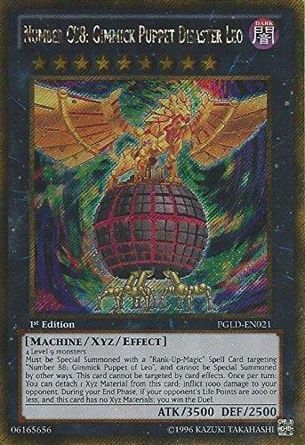 YU-GI-OH! - Number C88:Gimmick Puppet Disaster Leo (PGLD-EN021) - Premium Gold - 1st Edition - Gold Secret Rare