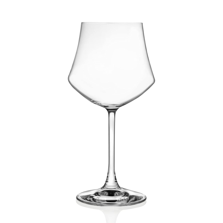 e346c94d87d2 Amazon.com | Lorenzo Ego-Red Wine Glass (6 Pack), Clear: Wine Glasses