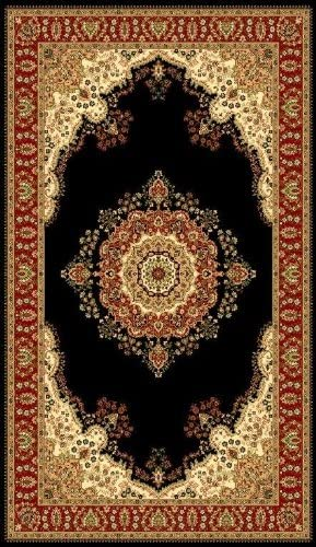 T1001 Green Cream Burgundy 7 10 x 10 2 Multi Variation Oriental Area Rug Carpet