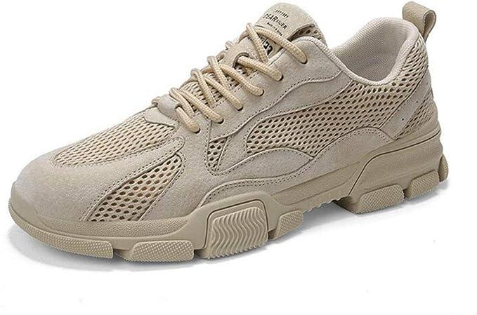 YXL Los hombres zapatos para caminar ligero antideslizante de la ...