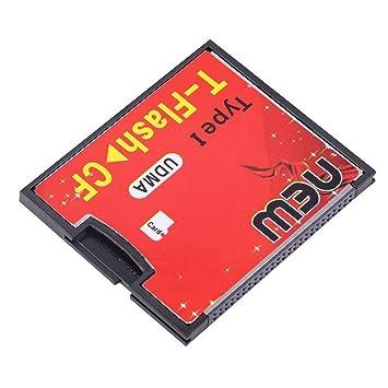 Amazon.com: Adaptador de tarjeta de memoria UDMA compacta T ...