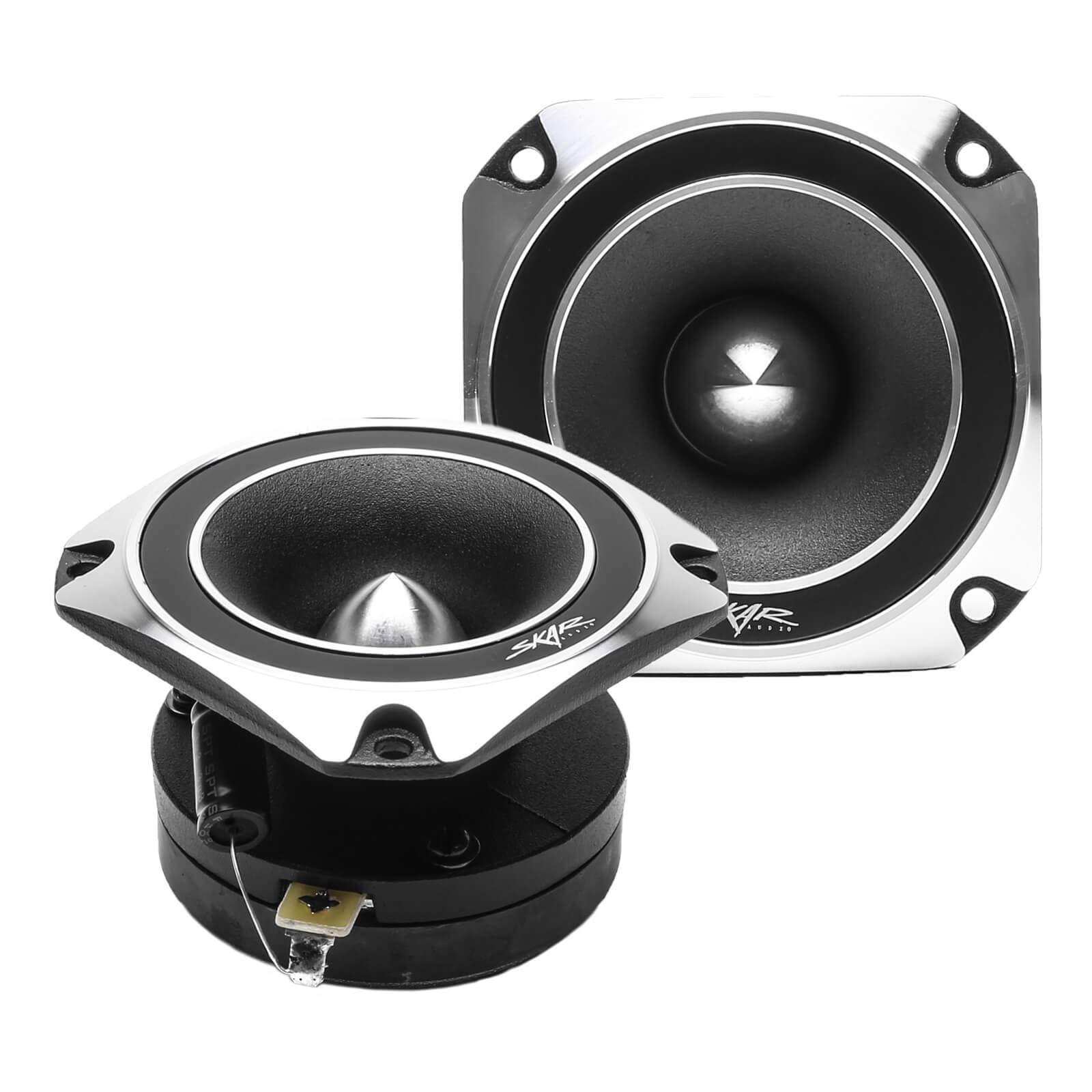 Skar Audio VX35-ST 3.5-Inch 300 Watt RMS High Compression Titanium Bullet Tweeters, Pair by Skar Audio