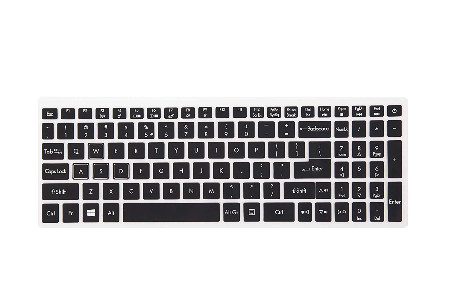 Keyboard Cover Compatible Acer Gaming Laptop Predator Helios 300 500 15.6 17.3 Series Model PH315-51 PH317-52 //Acer Nitro 5 AN515 //Acer VX5-591G VN7-793G Gaming Edition