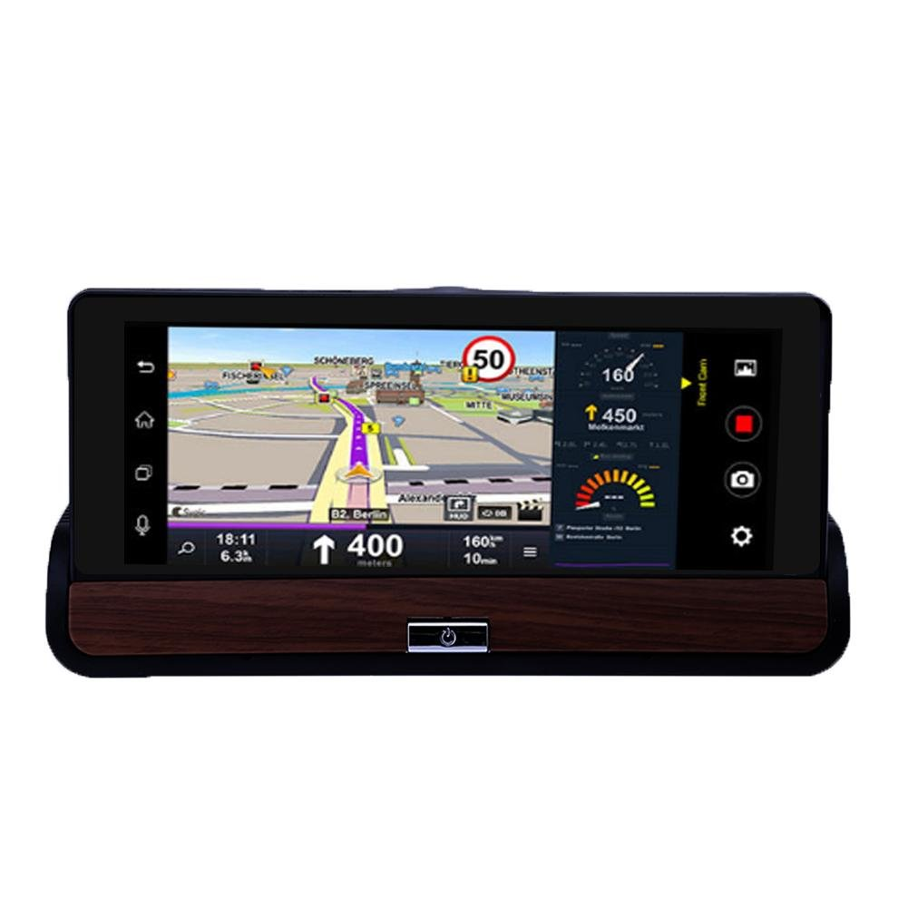MKChung 6.86 inch GPS Navigation Bluetooth Camera Rear View(With)(Russia) by MKChung