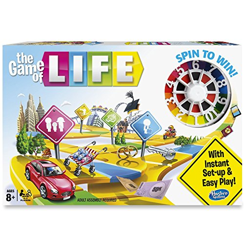 Hasbro The Game of Life (Life Game Kids)