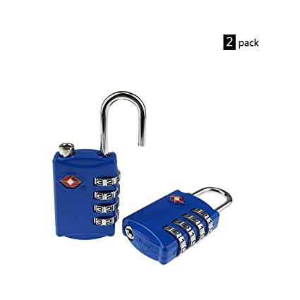 Access Control Equipment Honest 2xtsa Approve Luggage Travel Suitcase Bag Lock 3 Digit Combination Padlock Reset Factory Direct Selling Price