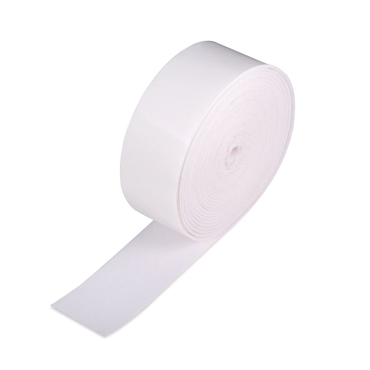 Winjun 5M Length White Self-Adhesive Soft Fiber Felt Roll for Fabric Edge Squeegee Accessories Vinyl Applicator