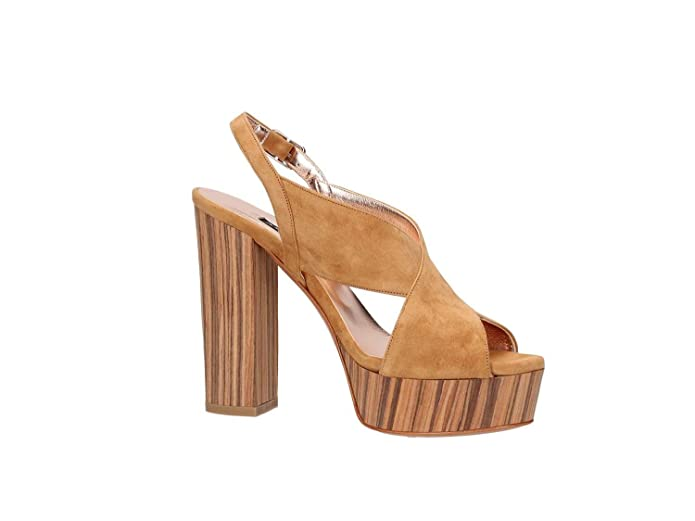 ALBANO chaussures sandales 1537 CUIR taille 40 Peau sXMbGxL