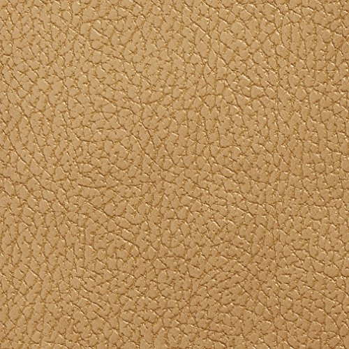 Camel Pebbled - G420 Camel Pebbled Breathable Leather Look And Feel Upholstery By The Yard