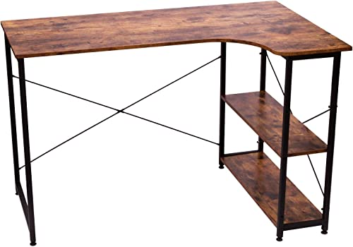 IRONCK L Shaped Desk Computer Table 47″