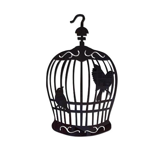 Acrílico Espejo Pegatinas De Pared Jaula De Pájaros Decoración ...