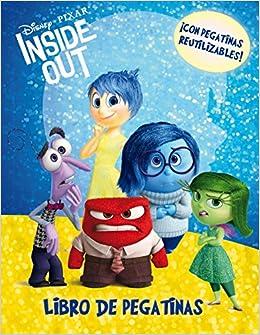 Inside Out. Libro de pegatinas: ¡Con pegatinas