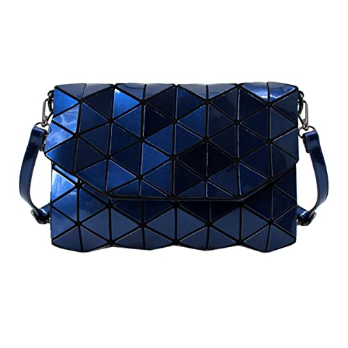 ab1f8119a13 Goodbag Boutique Women's Geometric Bag Cross-Body Bag PU Shoulder Bag Laser  Clutch Purse Bags
