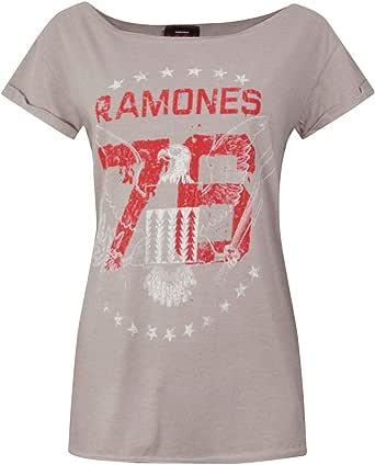 Amplified Boutique Ramones 76 Tour Women's T-Shirt