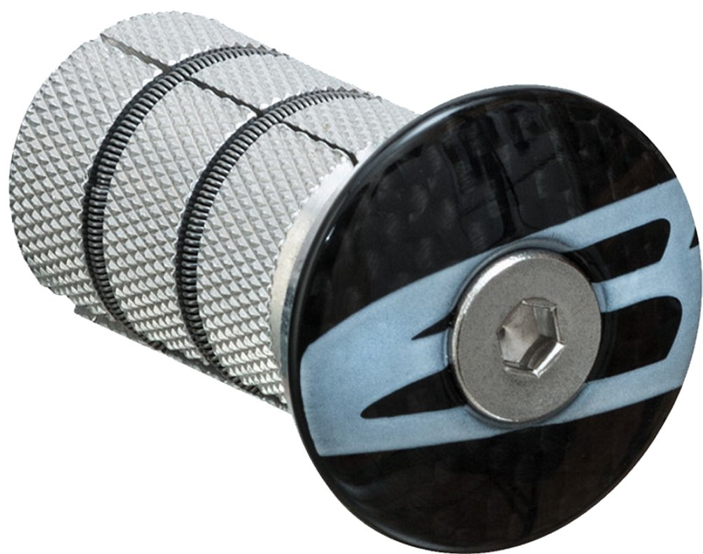 BikeHard Carbon Expander Compression Cap 1 1/8'' by BikeHard (Image #1)