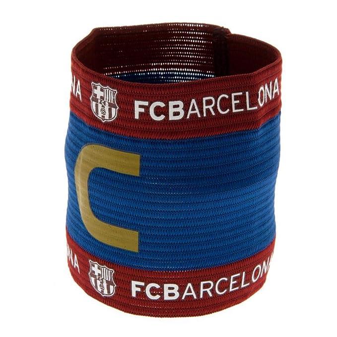 Amazon.com: Brazalete oficial del FC Barcelona., talla única ...