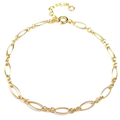 20aaeda67ed6a BENIQUE Dainty Bracelet for Women, 14K Gold Filled, Rose Gold Filled, Chain  Jewelry for Layering, Made in USA, 6.5